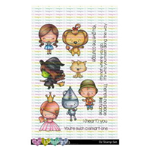 *New Oz Clear Stamp Set