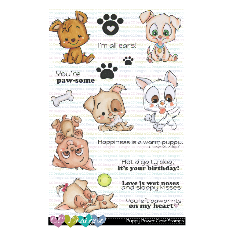 Puppy Power Clear Stamp Set