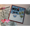 C.C. Designs Rubber Stamps:**New Build A Snowman Clear Stamp Set
