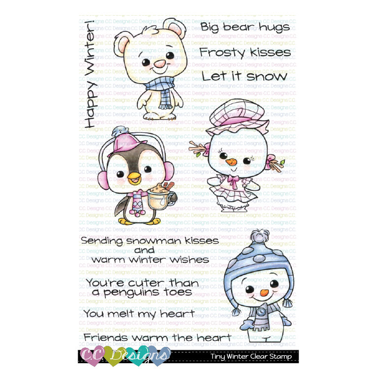 Tiny Winter Clear Stamp Set