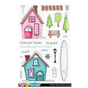 Winter Scene Clear Stamp Set