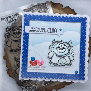 Abominable Clear Stamp Set