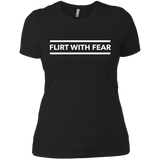Flirt With Fear Women's Boyfriend Tee