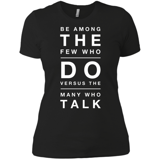 DO vs TALK Women's Boyfriend Tee