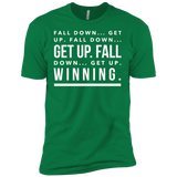 Fall Down... Get Up! Men's Tee