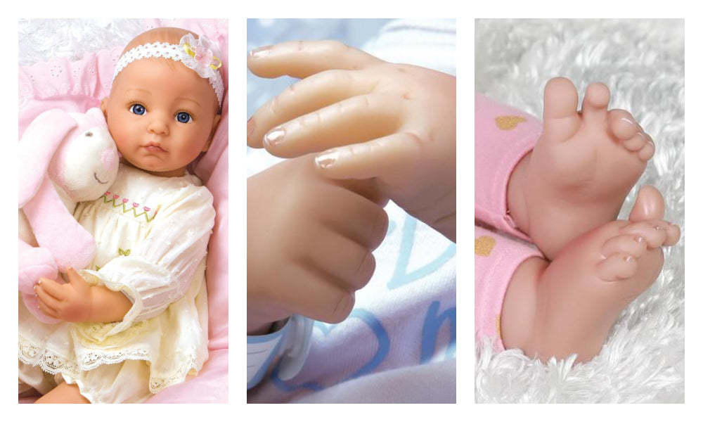 What Should My Doll Be Made Of? A Look at Silicone, GentleTouch, and FlexTouch Vinyl Dolls