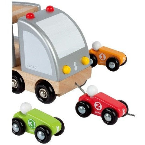 Multiple Trailer truck cars - French Carousel