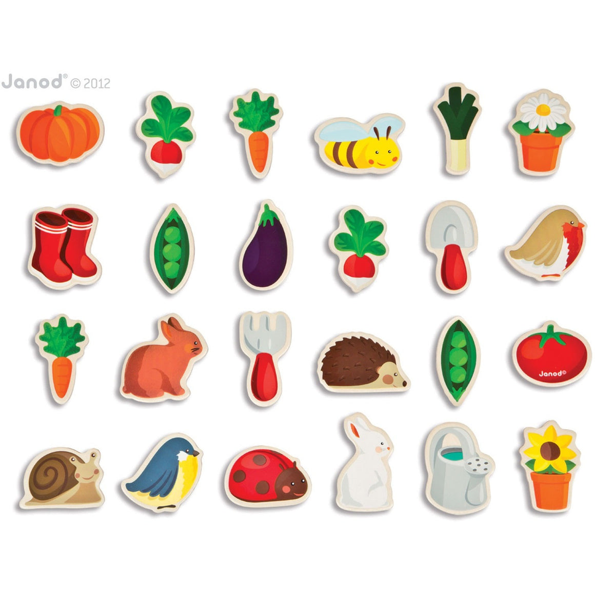 Garden Magnets-24 - French Carousel