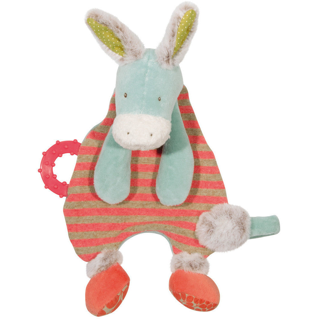 Donkey Pacifier Lovey - French Carousel