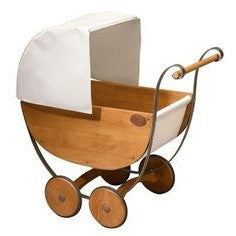 Old Fashioned pretend play pram - French Carousel