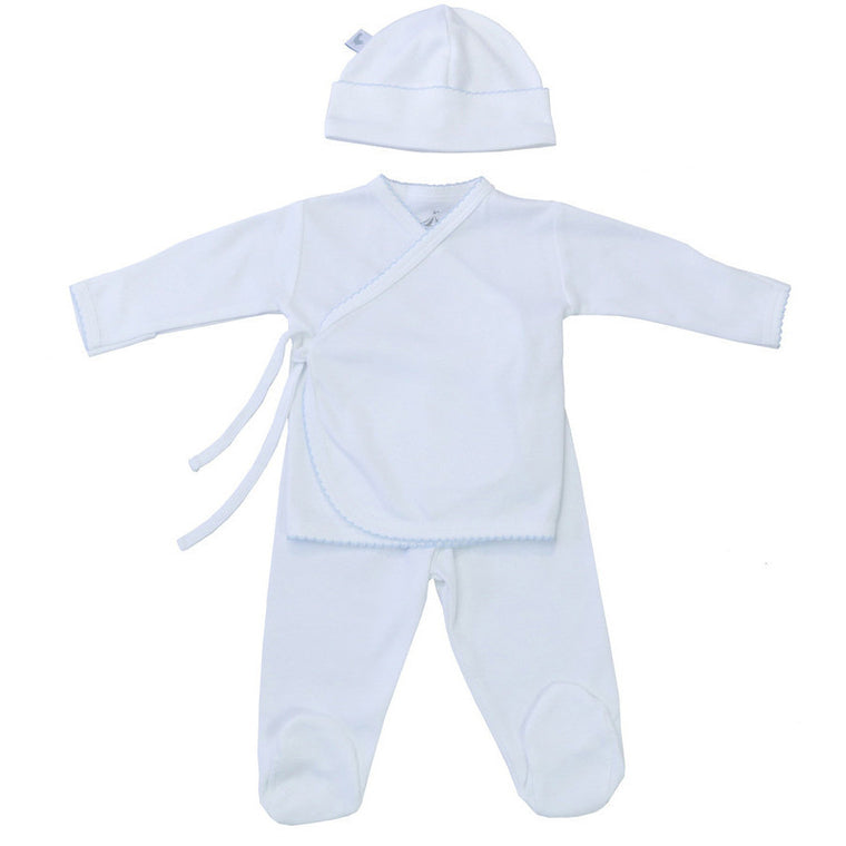 Boy Kimono 2-pieces set with hat - French Carousel