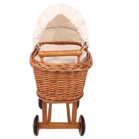 Old fashion wicker pram - French Carousel