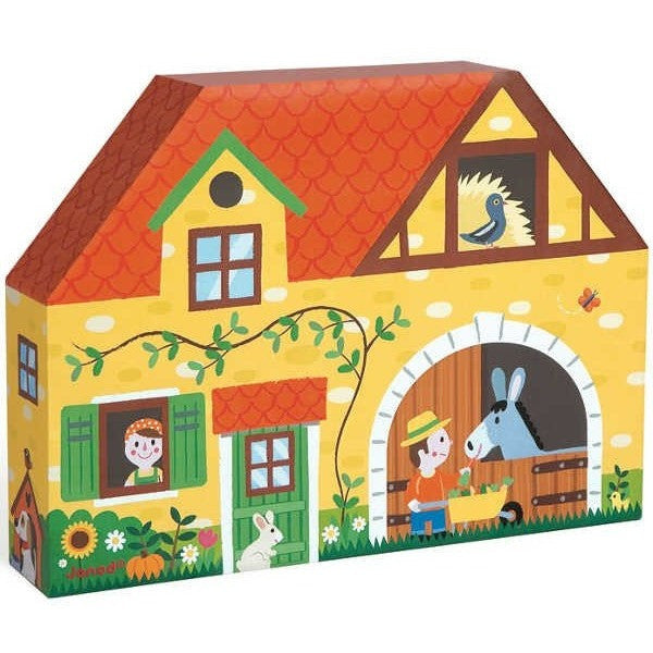 Wooden Farm Story Box Set - French Carousel