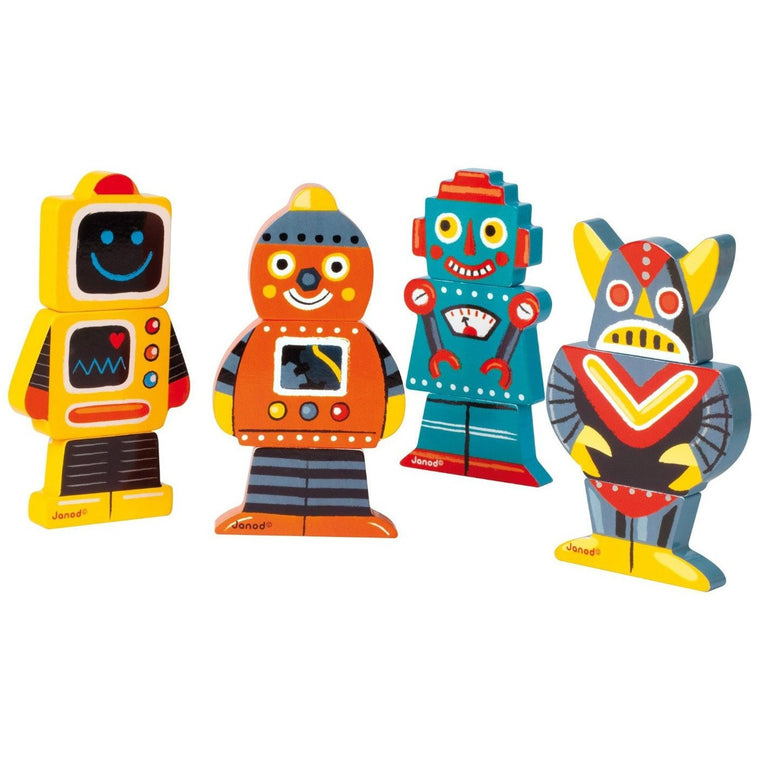 Robots Magnets - French Carousel
