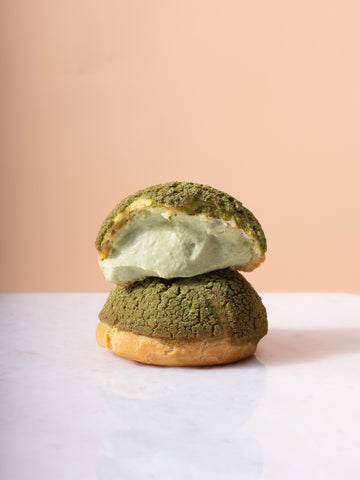 Matcha Cream Puff Kit