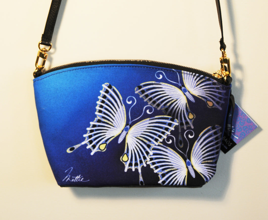 Butterfly cross-body bag