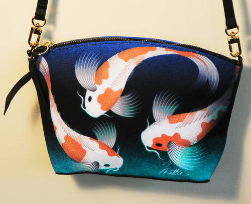 Koi Fish Cross-Body bag