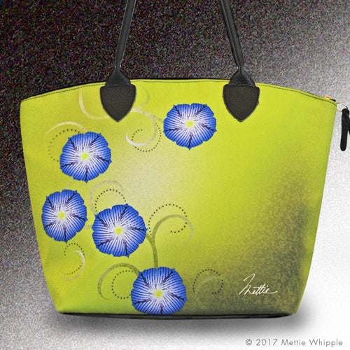 Morning Glories tote