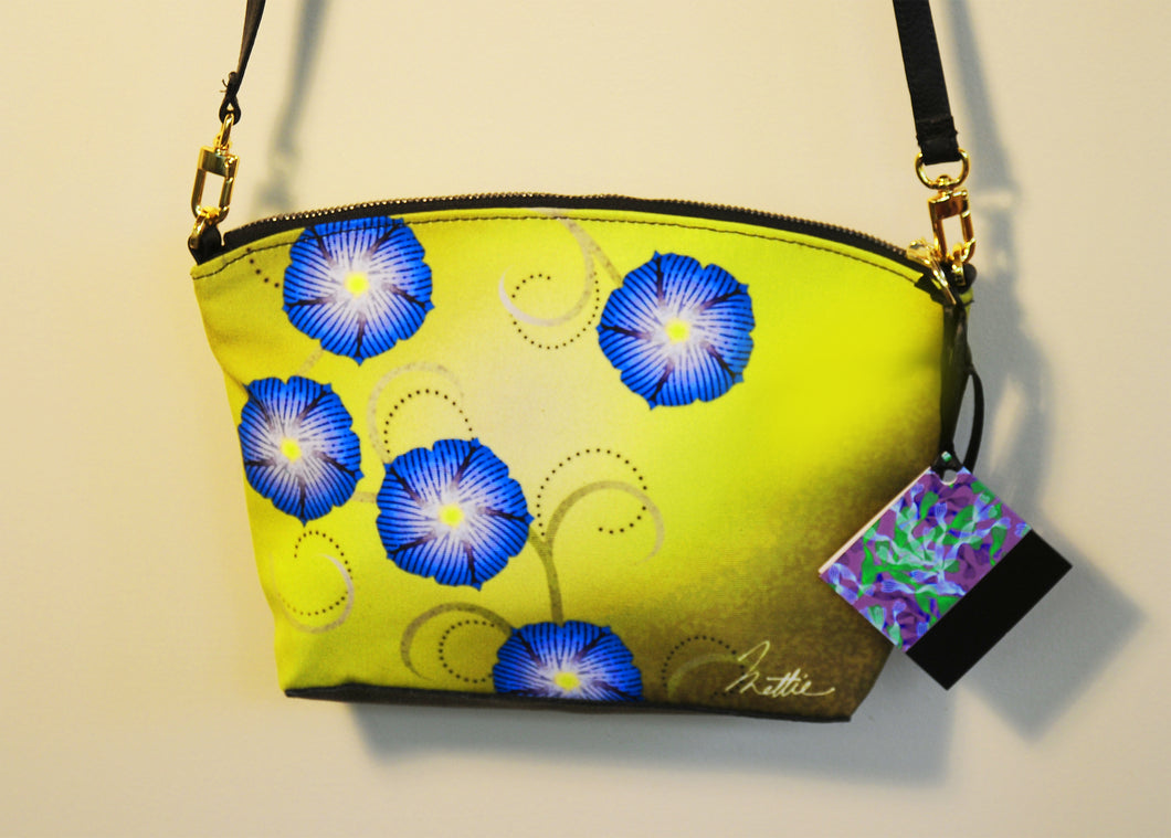 Morning Glories Cross-Body bag