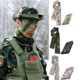 Tactical Camouflage Fish Net Mesh Sniper Scarf Head Cover Face Veil