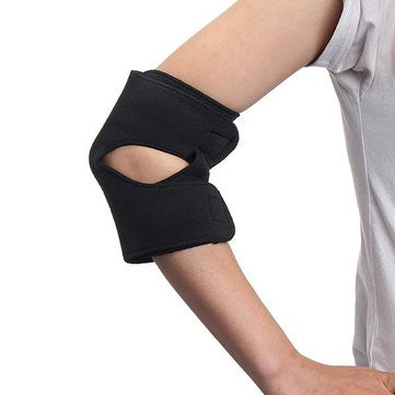 Neoprene Adjustable Therapy Magnetic Elbow Support