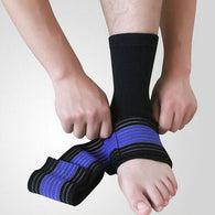 Ankle Support Brace Sports Feet Care Protector Bandage Wrapping Sleeve
