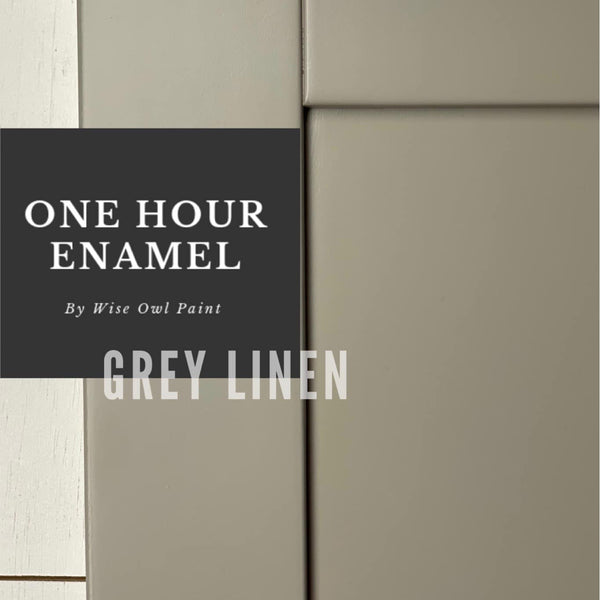 Gray Linen One Hour Enamel