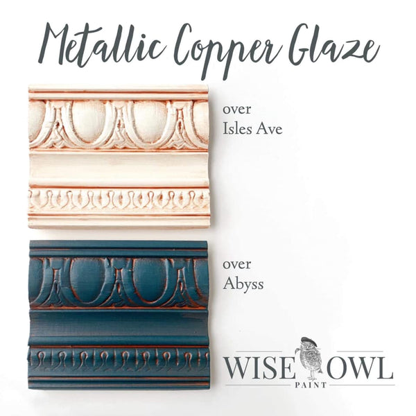 Copper Metallic Glaze