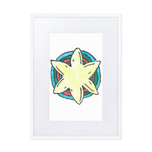 Hand Drawn Starfish ~ Hanging Wall Art ~ Emmer Designs