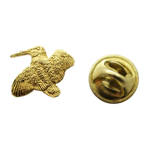 Woodcock Mini Pin ~ 24K Gold ~ Miniature Lapel Pin ~ 24K Gold Miniature Lapel Pin ~ Sarah's Treats & Treasures