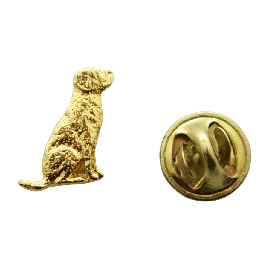 Lab or Labrador Mini Pin ~ 24K Gold ~ Miniature Lapel Pin ~ 24K Gold Miniature Lapel Pin ~ Sarah's Treats & Treasures