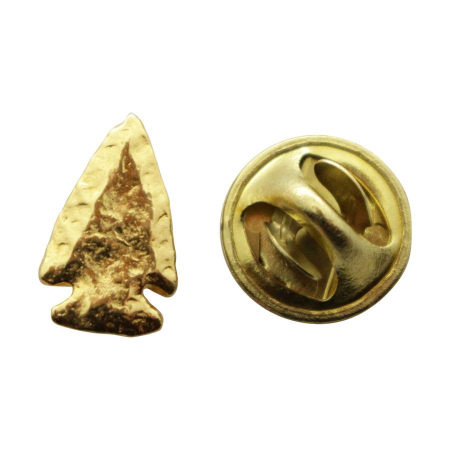 Arrowhead Mini Pin ~ 24K Gold ~ Miniature Lapel Pin ~ Sarah's Treats & Treasures