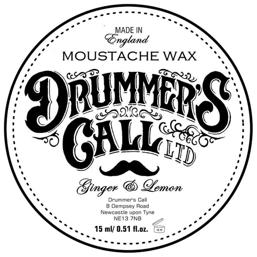 Drummer's Call Moustache Wax