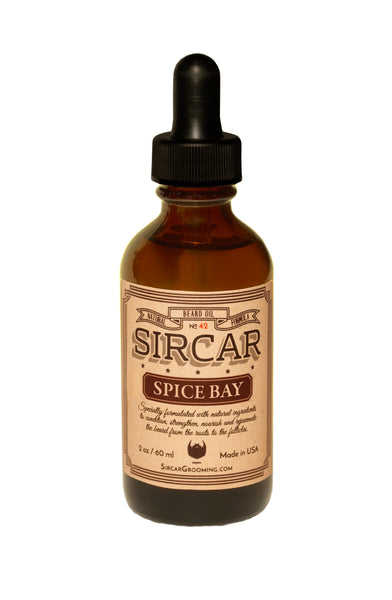 Sircar Beard Oil - Spice Bay Scent