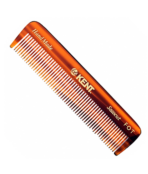 KENT - Men's Pocket Comb(Small) 113mm fine.