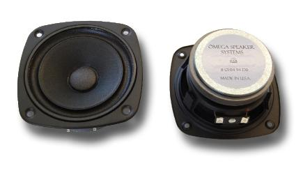 omega RS5 driver showing front and rear