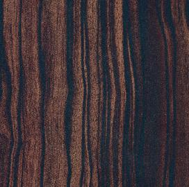 Quartered Macassar Ebony Finish