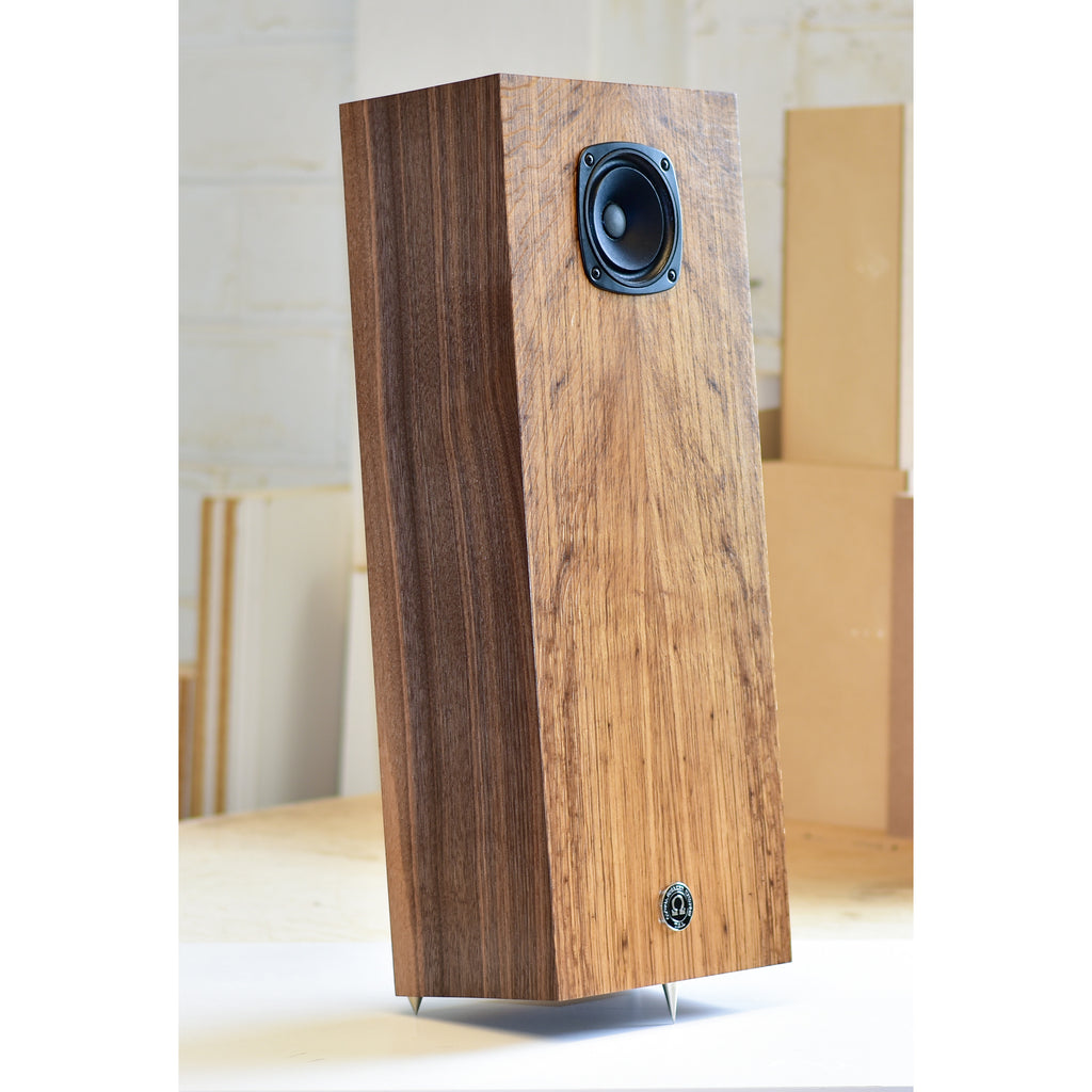 Super 3 XRS Towers in English Oak / Riviera Walnut