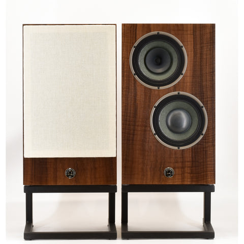 Vintage High Ouput Monitors in Curly Fumed Oak