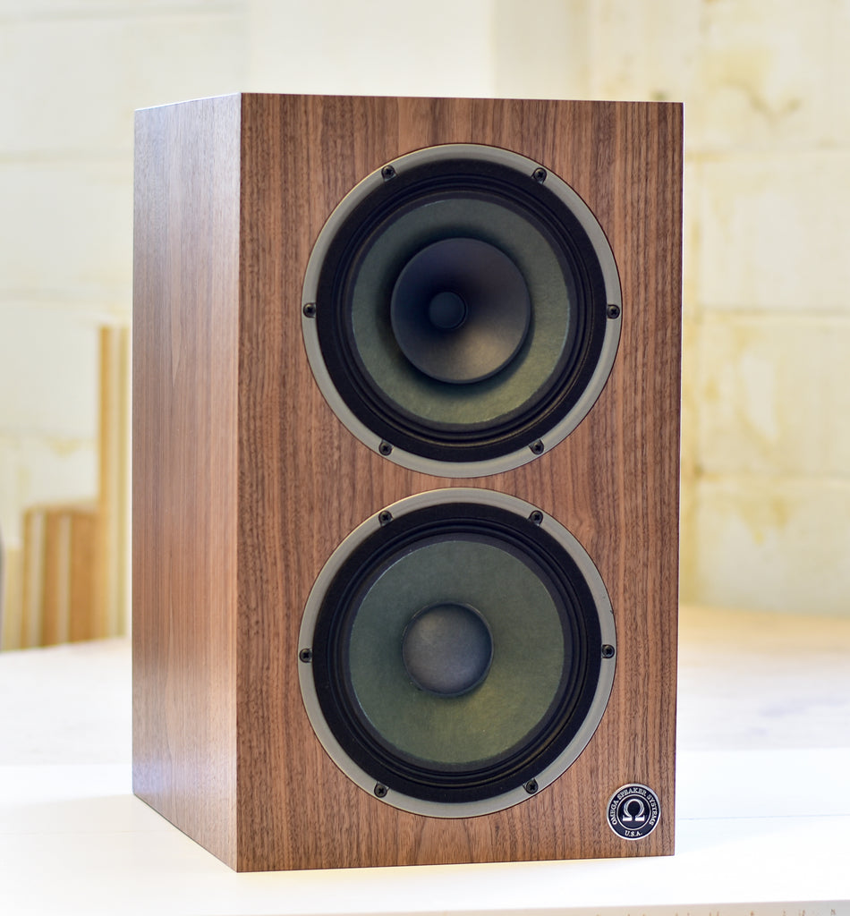 CustomShop Compact 8 High Output Monitor in Natural Figured Walnut