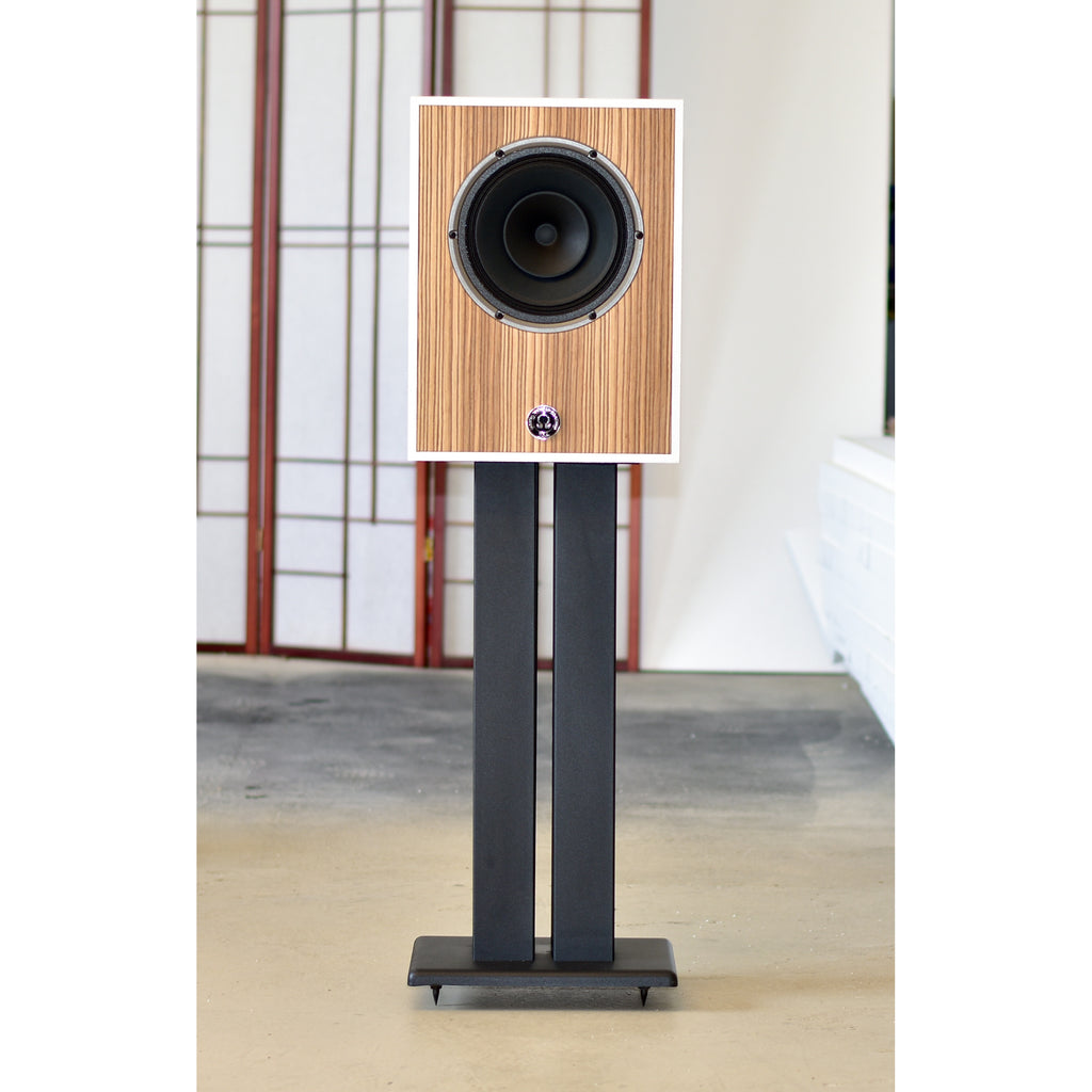 Compact 8 Monitors in White and Zebrawood
