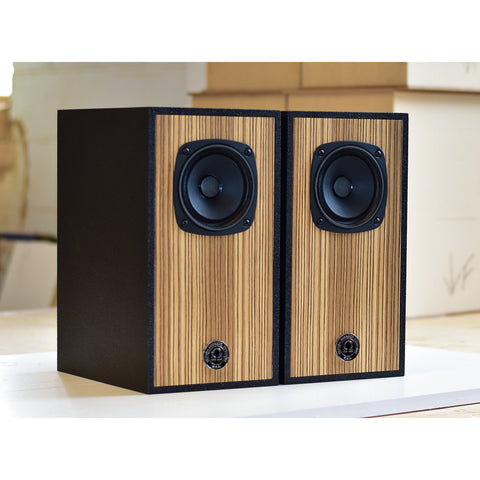 Super 3i Monitor in Black/Zebrawood Finish