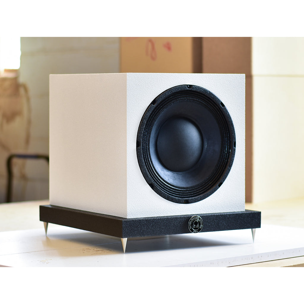 Speed 10 Subwoofer in White with Black Base
