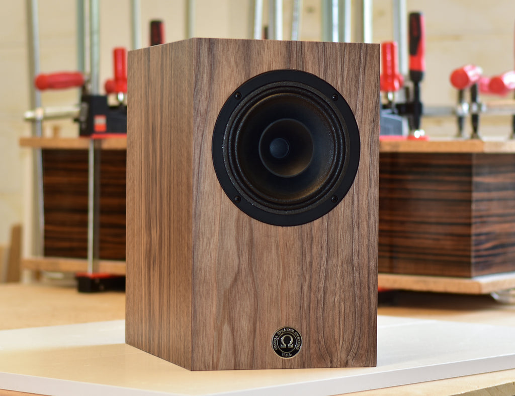 Super 7 MK2 Monitor Demo in Natural Walnut