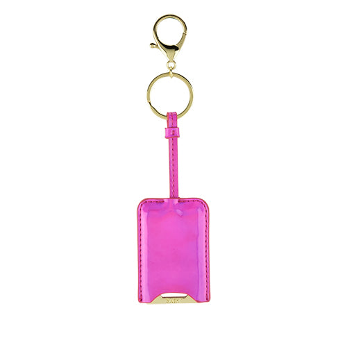 KeyFab: PinkBottle Opener Key Chain with vinyl cover