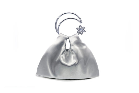 Moon Scooper Moonlight Fabric bag - Silver