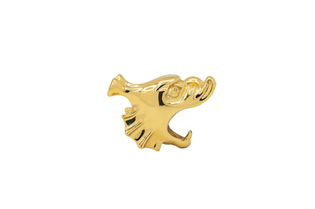 Roider H Single Stud - Gold