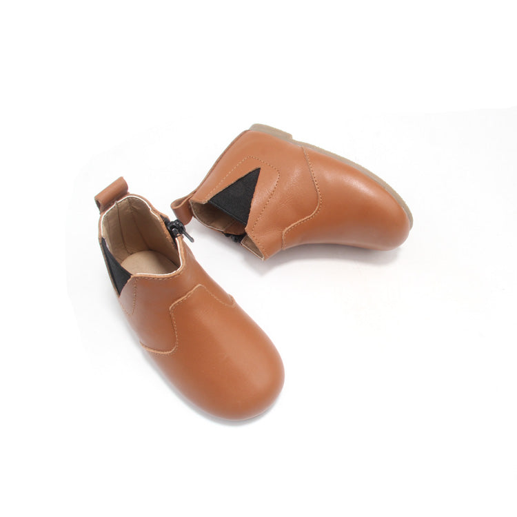 Tan Whoa Nally Boot Hard Sole