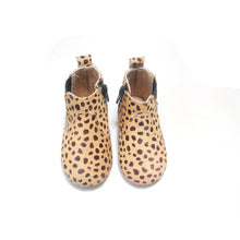 Leopard Whoa Nally Boot Hard Sole