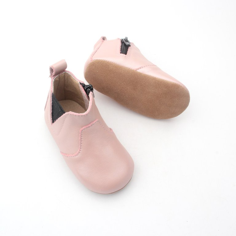 Pink Whoa Nally Boot Soft Sole